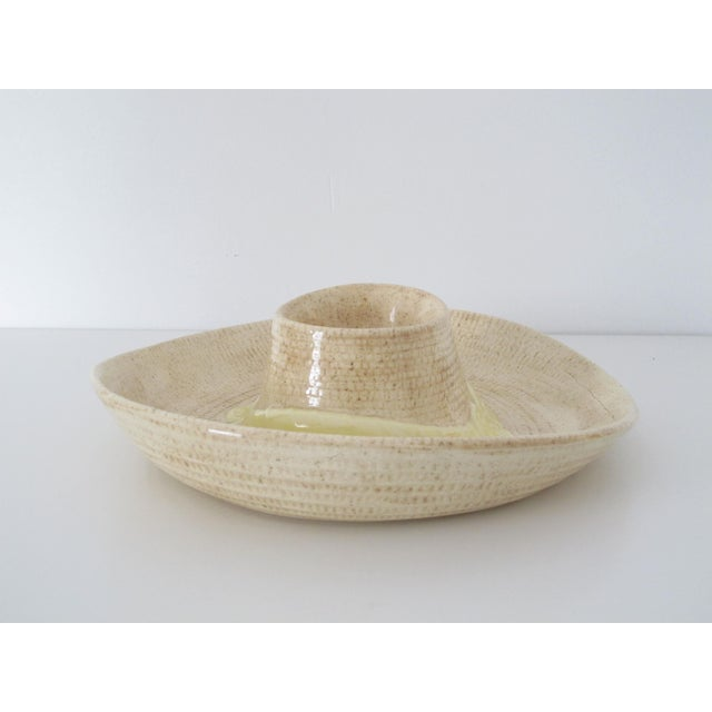 Sombrero Chip n' Dip Party Platter For Sale - Image 4 of 8