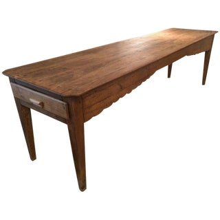 Antique Pine Farm Table