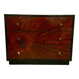 Modern Regina Andrew Sunburst Chest For Sale