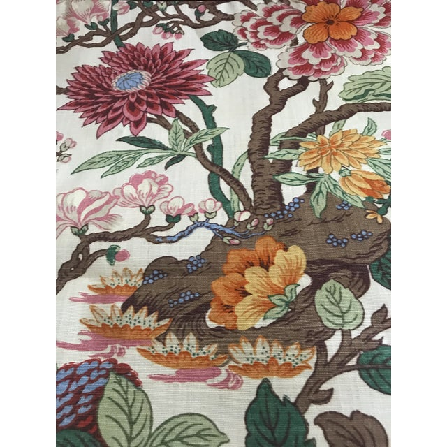 G P & J Baker Magnolia Colorful Linen Fabric - 10 Yards For Sale In Raleigh - Image 6 of 11