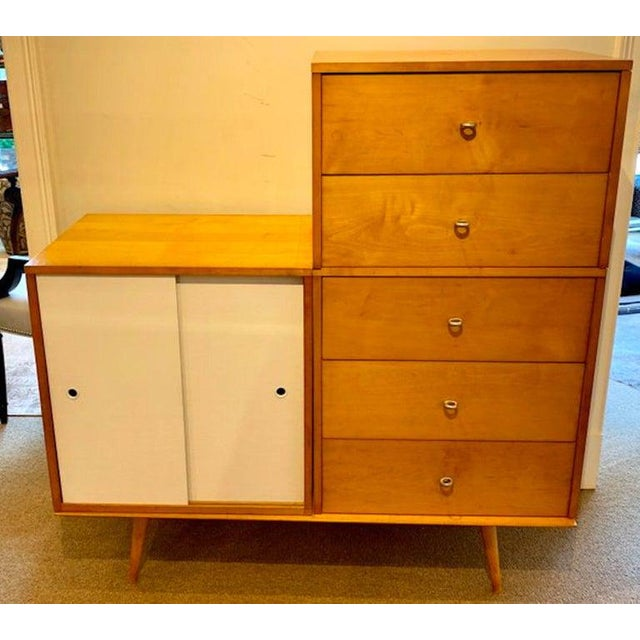Planner Group Paul McCobb Modular Cabinet or Dresser for the Planner Group For Sale - Image 4 of 13