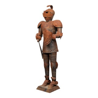Diminutive Medieval Style Suit of Metal Armor For Sale