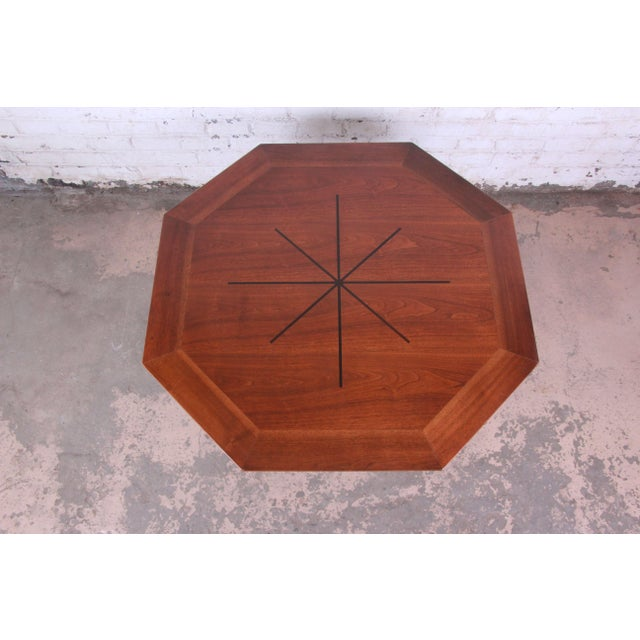 Dunbar Furniture Edward Wormley for Dunbar Janus Collection Game Table For Sale - Image 4 of 12