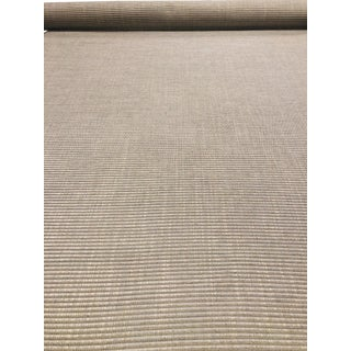 Diane Von Furstenberg for Kravet Otto Silver Designer Upholstery Fabric - 2 Yards For Sale