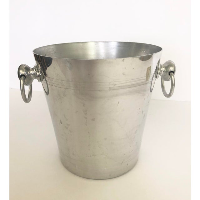 Vintage Mumm & Co. Cordon Rouge French Champagne Ice Bucket For Sale In Tampa - Image 6 of 9