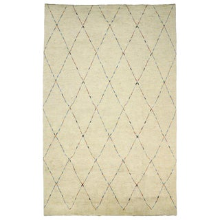 Contemporary Organic Modern Moroccan Style Rug - 12′5″ × 19′8″ For Sale
