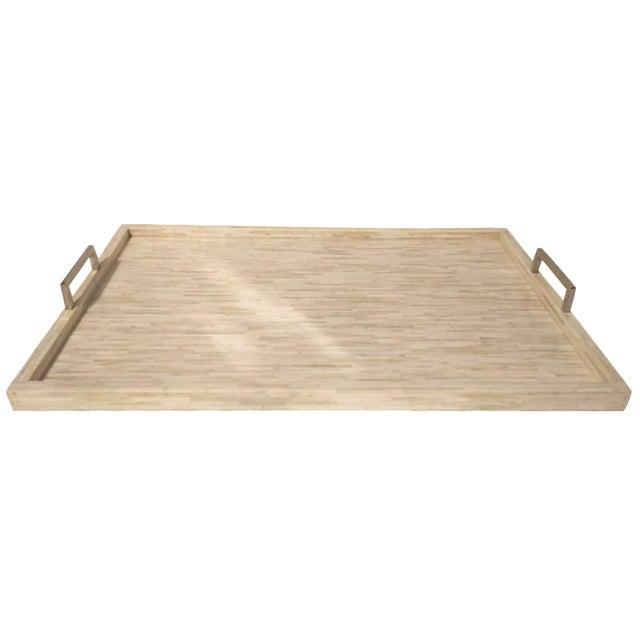Extra Large Bone Inlay Tray - Image 1 of 6