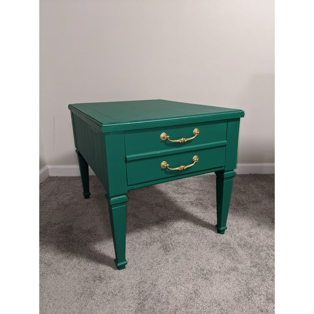 Mid Century Lane Coffee Table/Night Stand For Sale - Image 11 of 11