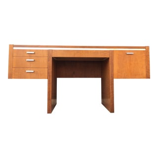 Mid Century Minimal Desk by Founders For Sale