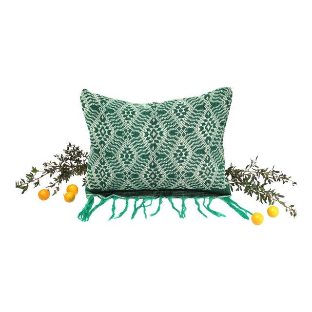 Handloomed Sumba Ikat Lumbar Pillow - Image 2 of 7