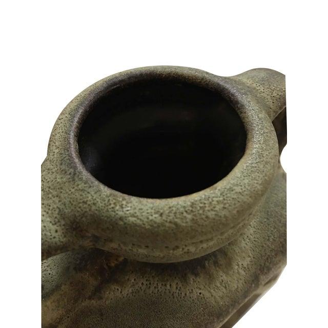 1970s Vintage Steuler West German Pottery Jug/Vase For Sale In Phoenix - Image 6 of 9
