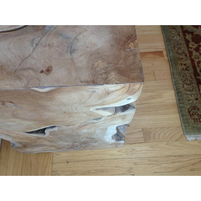 Jayson Home Milo Teak End Tables - a Pair - Image 5 of 6