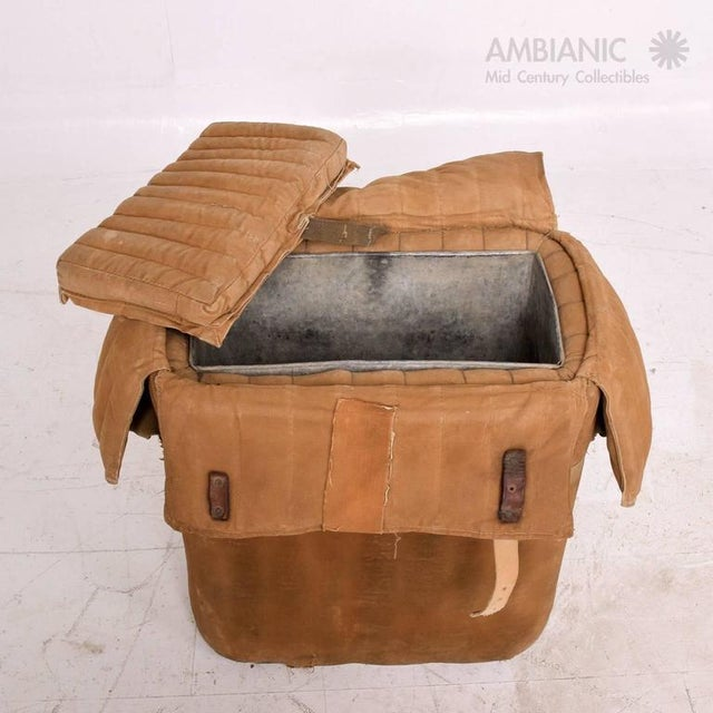 Brown Industrial Military Ice Chest For Sale - Image 8 of 10