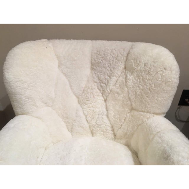 Shearling Arm Chair by Lee Industries For Sale In Denver - Image 6 of 13