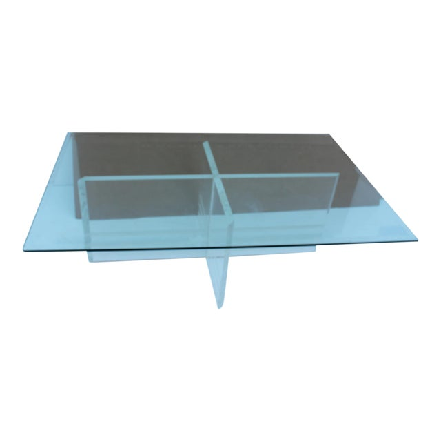 Vintage Lucite Coffee Table - Image 1 of 8