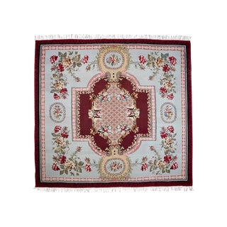 Large Southeast European Kilim Rug - 11′11″ × 12′9″ For Sale