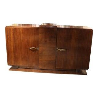 Art Deco Wood Sideboard For Sale