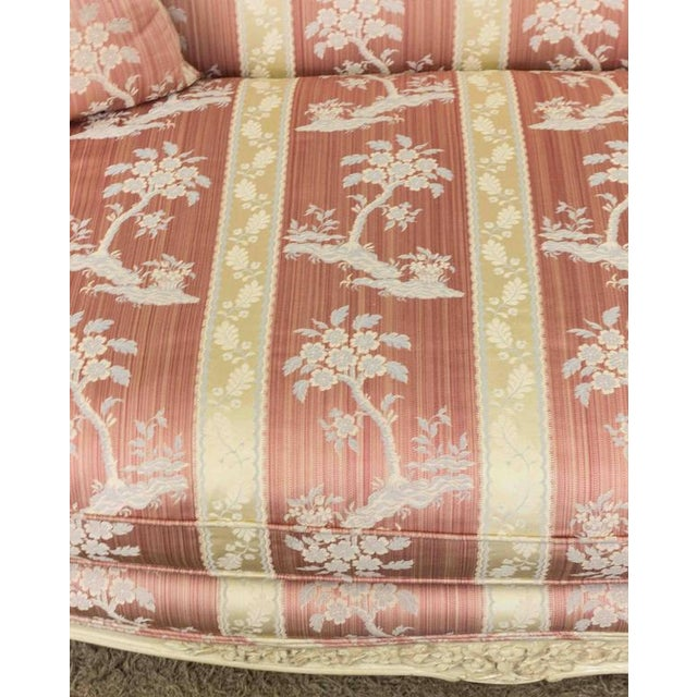 Louis XV Style Settee With Painted Finish - Image 7 of 11