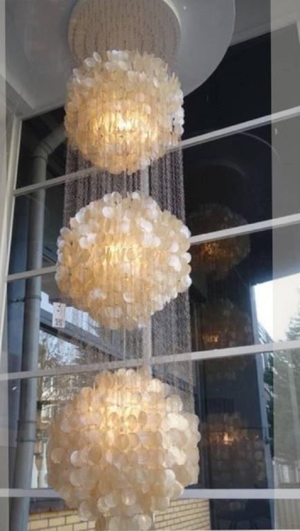 verner panton lighting. Exquisit Fun 3DM Chandelier Or Pendant Lamp By Verner Panton - Image 4 Of 6 Lighting