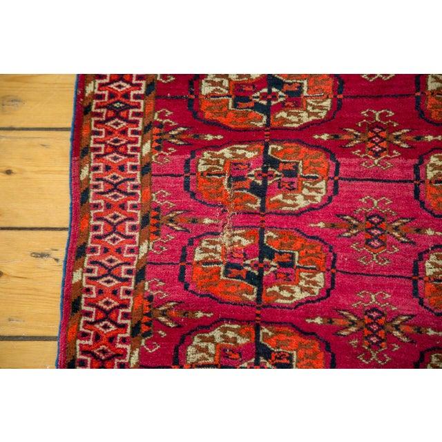 """Vintage Turkmen Square Rug - 3'4"""" X 3'4"""" - Image 7 of 8"""