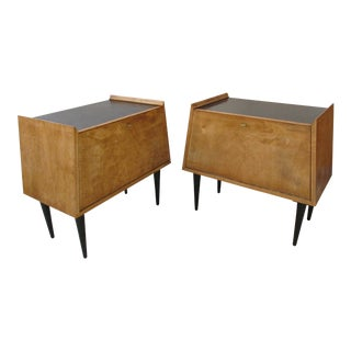 Nightstands by Edmund Spence for Walpole, the Pair