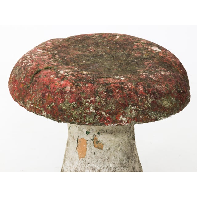 Mid 20th Century Vintage Mid Century Garden Mushroom Stool For Sale - Image 5 of 9