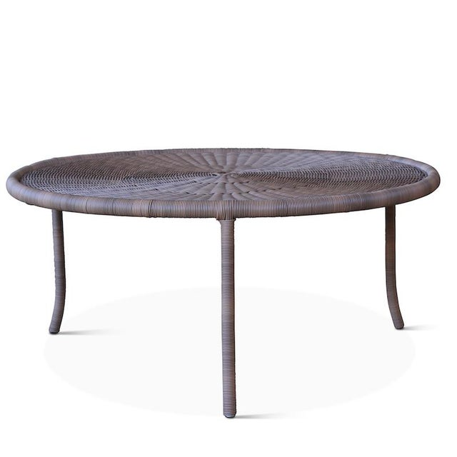 The Lily Pad tables are hand-woven from all-weather wicker and come in three sizes. They look fabulous nested together in...