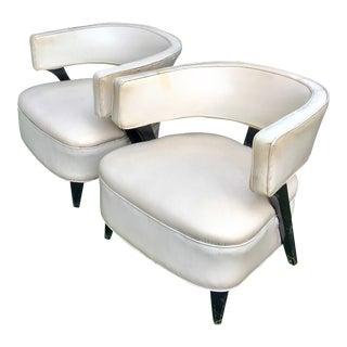 Mid-Century Modern Paul Laszlo Chairs - A Pair For Sale