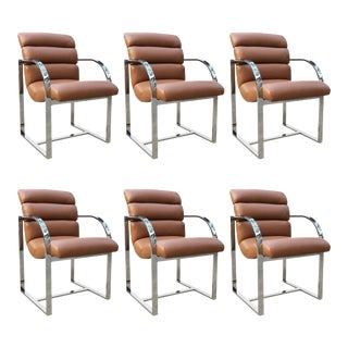 Dining Chairs by Milo Baughman for Thayer Coggin - Set of 6 For Sale