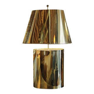 Large brass table lamp attributed to curtis jere 4310aspectfitwidth320height320 large brass table lamp attributed to curtis jere aloadofball Gallery
