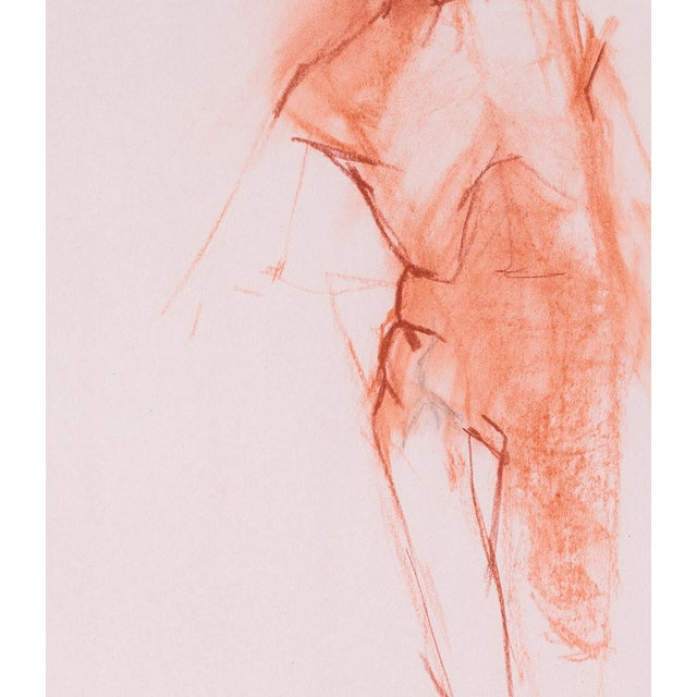 Red Chalk Gesture Drawing - Image 2 of 3