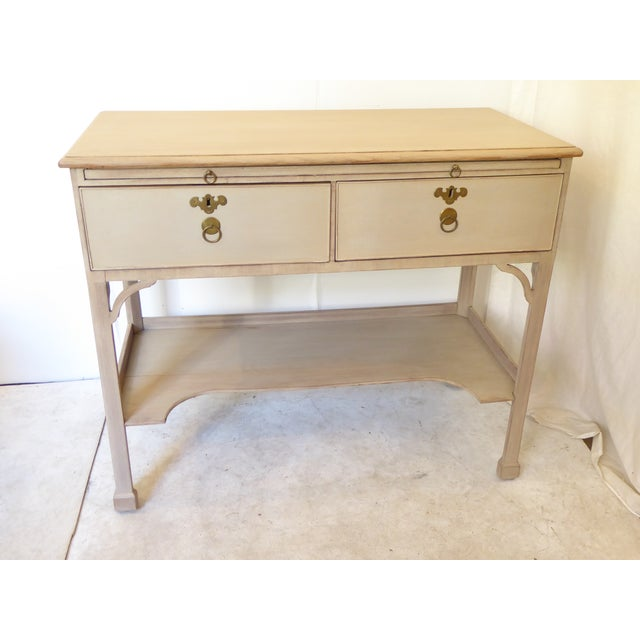 Antique Chinese Chippendale Style Console For Sale - Image 10 of 11