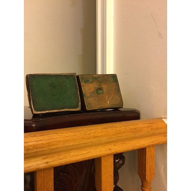 Signed Kileny Bronze Bookends - A Pair For Sale In New York - Image 6 of 7