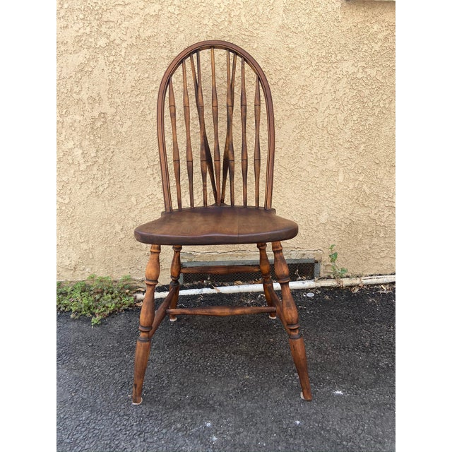 Antique Windsor Side Chair For Sale - Image 12 of 12