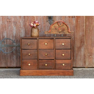 Petite Colonial Teak Chest of Drawers Preview