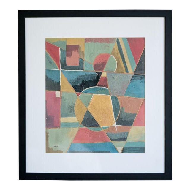 slant select -- Untitled by Ivan Kliun. Russian constructivist - Image 1 of 4
