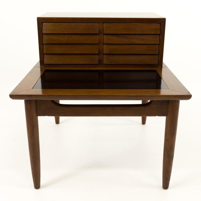 Merton Gershun for American of Martinsville mid century nightstand. Made in the mid 20th century.
