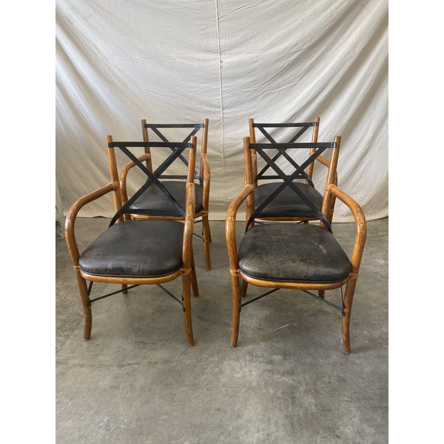 Vintage Thonet Dining Chairs - Set of 4 For Sale - Image 12 of 12