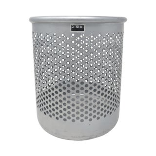 Silver Cribbio 1000 Trash by Barbieri & Marianelli for Rexite For Sale
