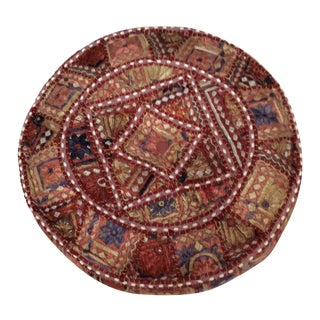 Vintage Boho Chic Zola Pillow For Sale