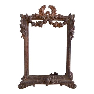 Antique Baroque Photo Frame For Sale