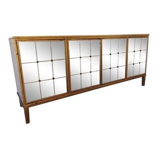Chiltern Gold Leaf Buffet by Bernhardt For Sale
