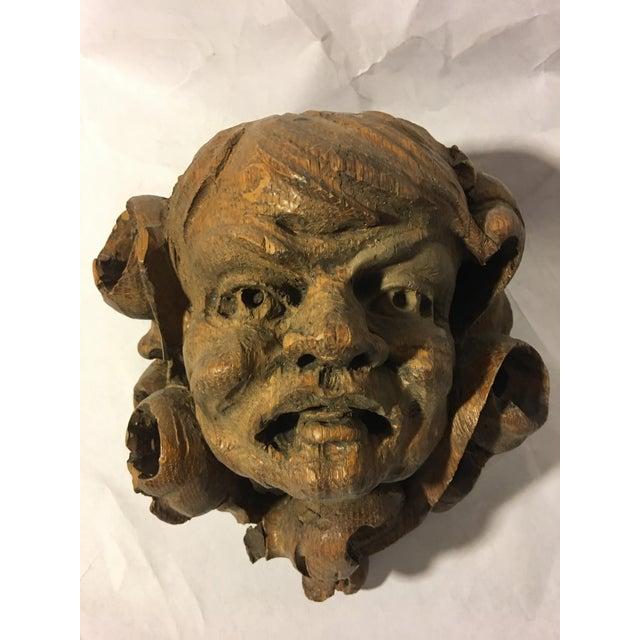 German Carved Oak Gargoyle - Image 3 of 9