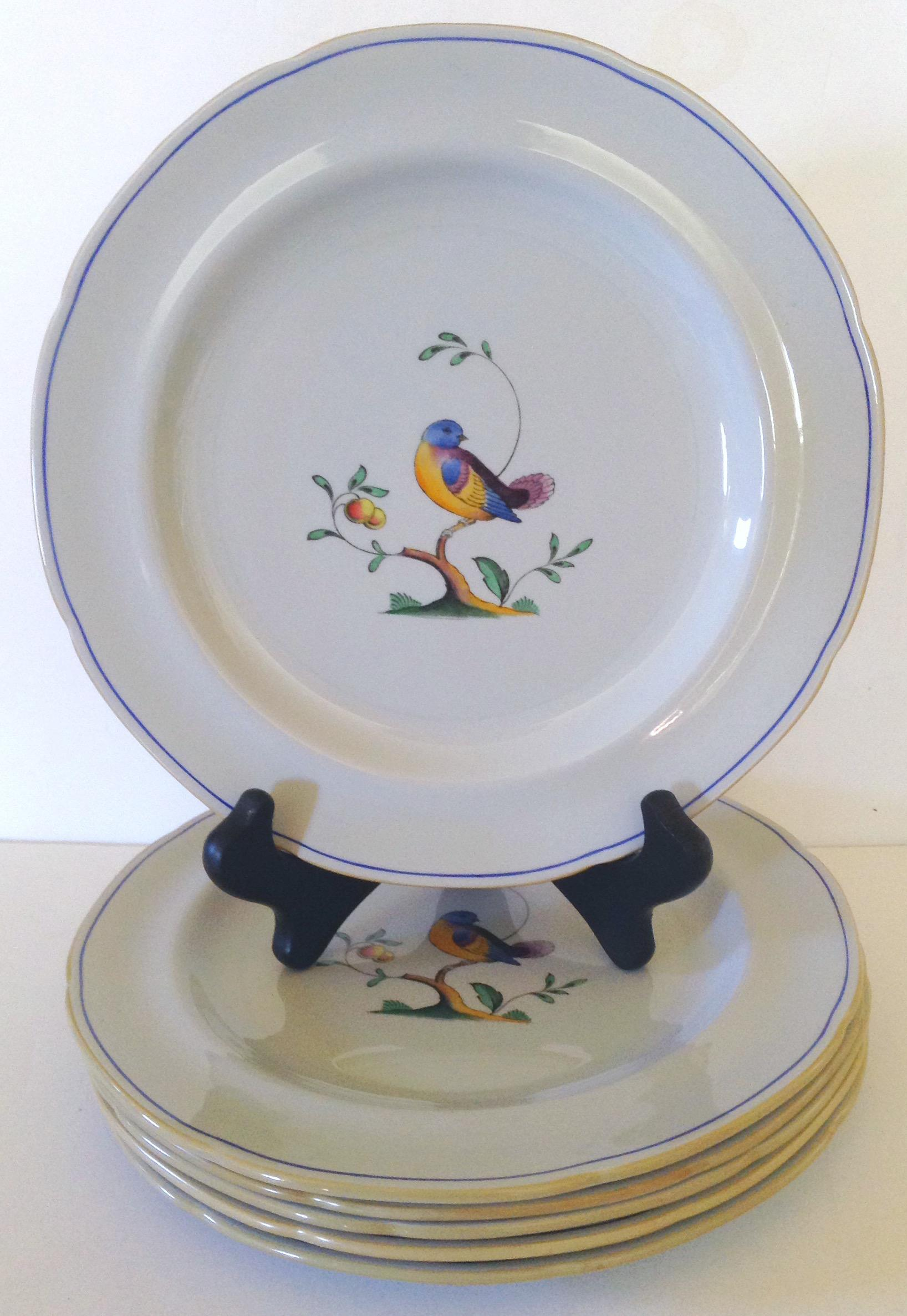 Spode Queenu0027s Bird Plates - Set of 6 - Image 2 ...  sc 1 st  Chairish & Spode Queenu0027s Bird Plates - Set of 6 | Chairish