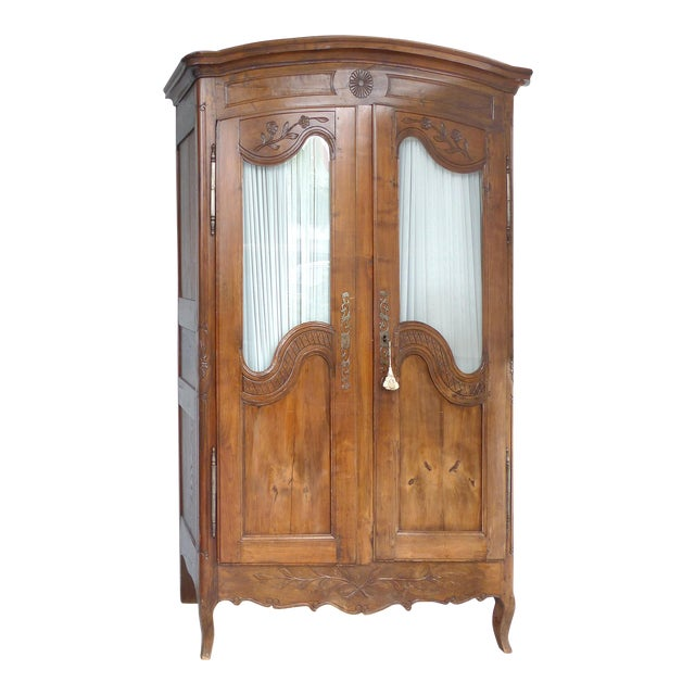 Antique French Provincial Style Armoire - Image 1 of 11