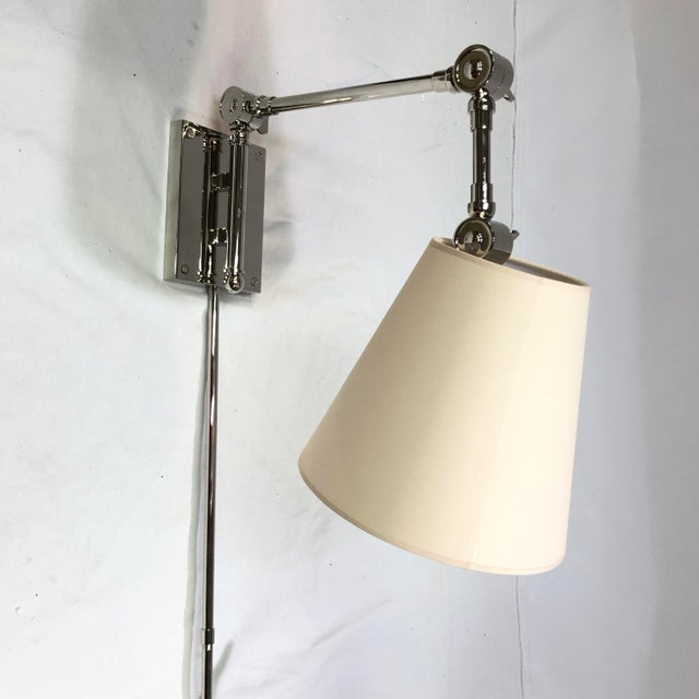 Visual Comfort Suzanne Kasler Graves Wall Swing Lamp For Sale - Image 9 of 9
