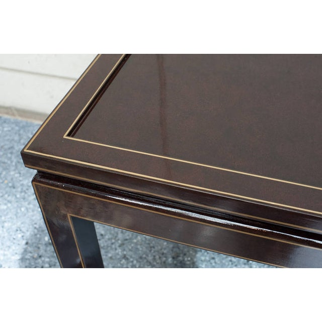 Contemporary Black Lacquer Coffee or Cocktail Table For Sale In West Palm - Image 6 of 10