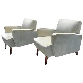 1930s Vintage Art Deco Streamline Chairs - a Pair For Sale