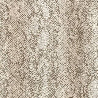Sample - Schumacher Cody Snakeskin Wallpaper in Malt For Sale