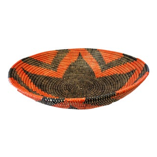 Senegal West Africa Wolof Basket For Sale